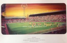 Manchester United 'Old Trafford 1977' A3 FRAMED print